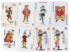 8 different playing card jokers (Lot 32) Some new old stock