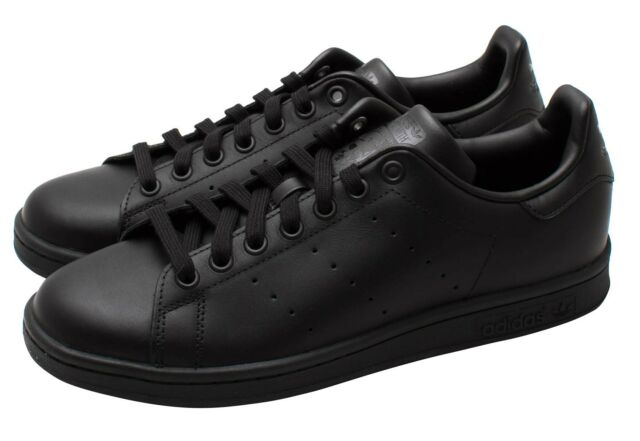 finest selection 69f66 77f44 Adidas Originals Stan Smith Mens Trainers Casual Black