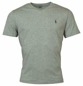 Polo-Ralph-Lauren-Mens-Big-and-Tall-Classic-Fit-V-Neck-Cotton-T-Shirt-Grey