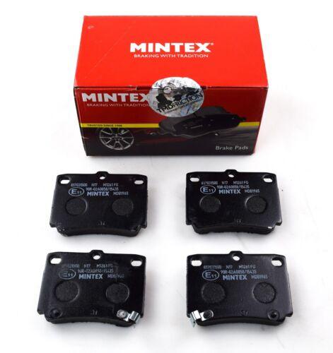 MINTEX REAR AXLE BRAKE PAD SET FOR MITSUBISHI MDB1965 FAST DISPATCH