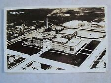 RPPC MN. HIGH SCHOOL AND JUNIOR COLLEGE AERIAL HIBBING MINN. REAL PHOTO POSTCARD