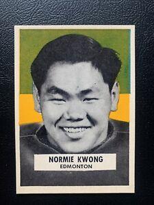 1959 Wheaties Cfl Edmonton Eskimos Normal Kwong . Card Is beautiful & centered !