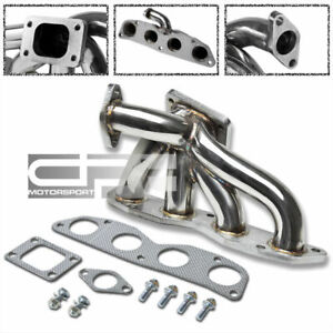 Details about STAINLESS T3 RACING SPORT TURBO MANIFOLD 02-11 CIVIC Si  EP3/FG2/RSX K20A3/K20Z3