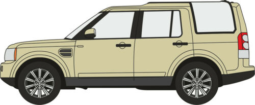 automobile Land Rover Discovery N Scale SUV car Sand