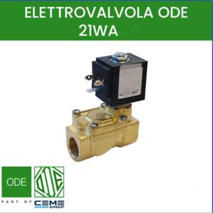 elettrovalvola acqua calda 90 gradi 220V 1/2 NC idroenergiaitalia EVWA130