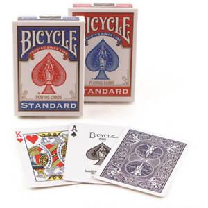 2-Mazzi-carte-da-gioco-Bicycle-Standard-index-Rosso-Blu-poker-magia-e-prestigio