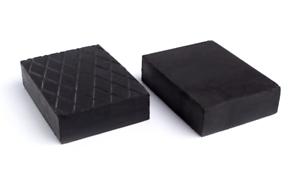 Gummiauflage Gummiklotz universal für Hebebühnen 120x80x40mm Gummiblock 1Stück