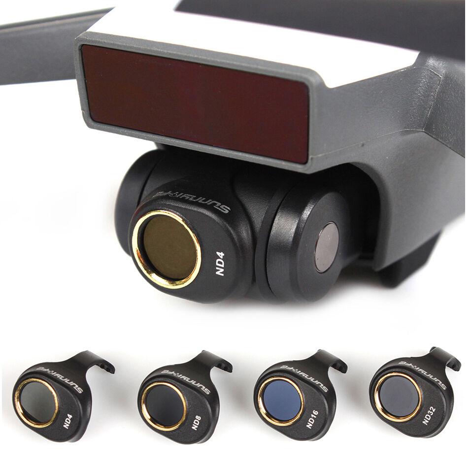Sunnylife Camera Lens Filter Set for DJI SPARK NOT Affect Gimbal Self-inspection