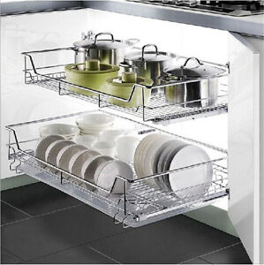 Sliding Wire Baskets For Kitchen Cabinets Architectural Design