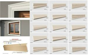 Details about Exterior Coving Cornice Outside Window Frame Mouldings Home  Decor High Quality