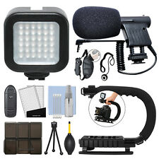 Digital SLR Camera Ultimate Video Accessory Bundle