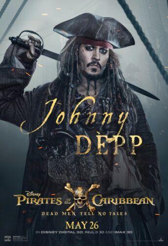 JOHNNY DEPP PIRATES POSTER A4 A3 A2 A1 CINEMA MOVIE LARGE FORMAT ART DESIGN