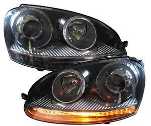 Depo Scheinwerfer für VW Golf 5 03-09 Gti-Design Xenon-Optik H7 links rechts
