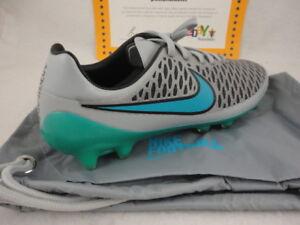 08a4e84e94cd Image is loading Nike-Magista-Opus-FG-Wolf-Grey-Turquoise-Blue-