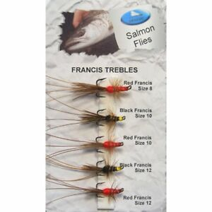 12 Pack Lures Black and Red Trout Flies Size 10 Fishing flies Nomads Orange