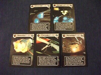 Star Wars CCG Complete DS Death Star II Admiral/'s Orders Lot In Attack Position+