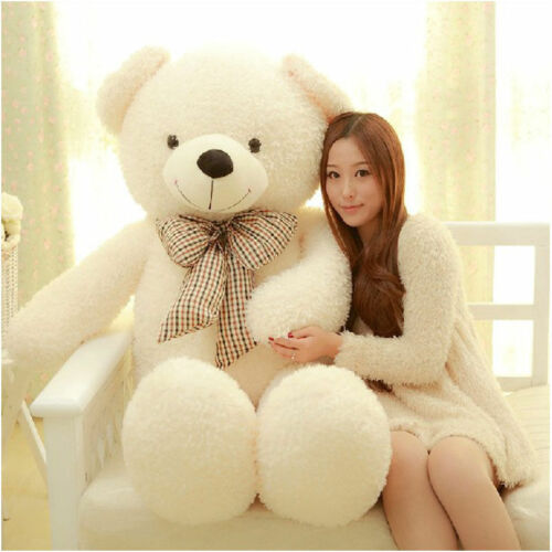 39in Giant Big Plush Stuffed Teddy Bear Huge Soft 100/% Cotton Toy Best Xmas Gift