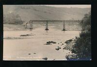 Wales Mon Monmouthshire TINTERN River Wye c1920/30s? RP PPC