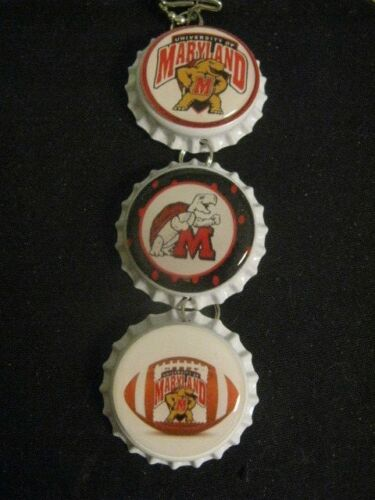 "1"" Bottle Cap Image Inside RView Mirror Handcrafted Gift Idea Terrapins"