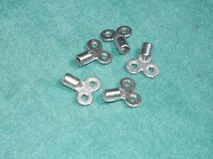 5 Stück Heizkörperentlüfterschlüssel