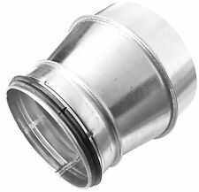 Wickelfalzrohr Reduzierung Muffe NW150 auf Nippel NW100 mit Doppellippendichtung