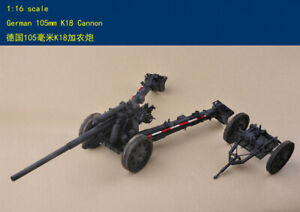 Merit-61601-1-16-Scale-German-105mm-K18-Cannon-Gunmodel-kit