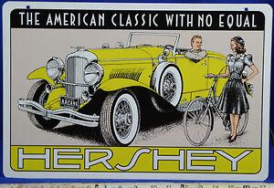 Hershey PA Fall AACA CAR Show Metal Sign Tom Houtz Limited - Hershey pa car show