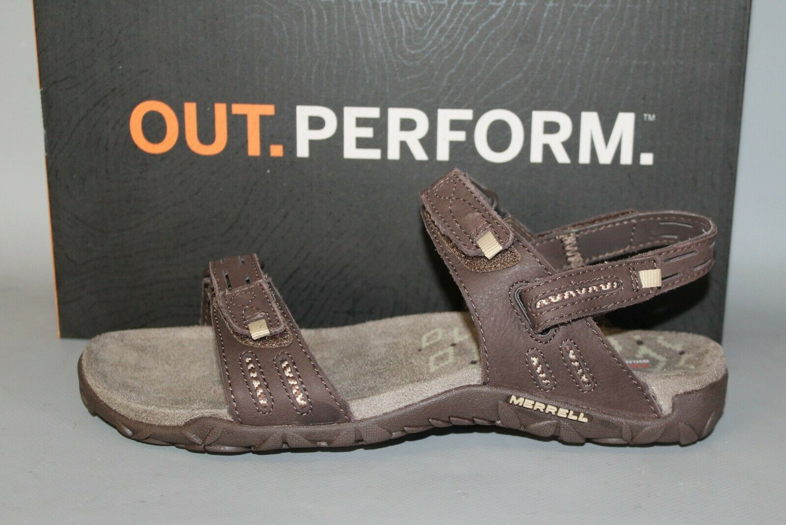 NEW Womens Merrell Terran Strap Size 11 Medium Sandals with removable heel strap