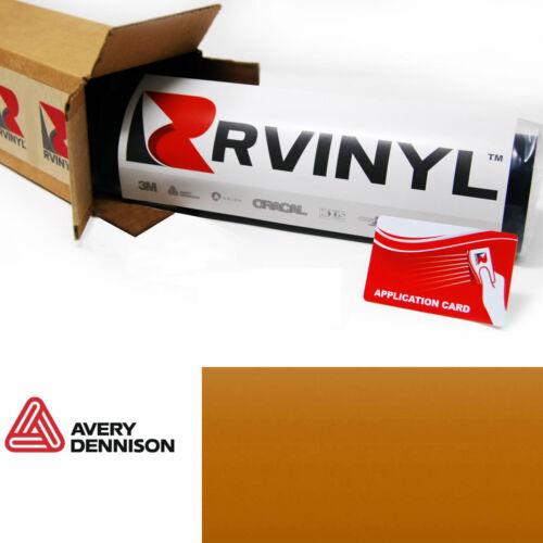 Avery SW900 326-S Gloss Gold Orange Pearl Supreme Wrapping Film Vinyl Wrap Sheet