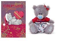 Christmas Girlfriend Gift 2 Pack Christmas Card And 8 Girlfriend Plush