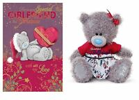 Christmas Girlfriend Gift 2 Pack Christmas Card And 8 Girlfriend Plush