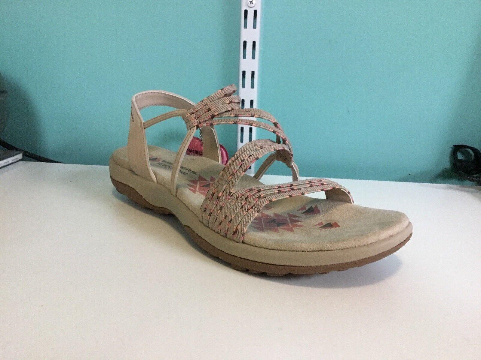 Womens Skechers Sandals Reggae Slim Stretch Appeal 40826 Size 7