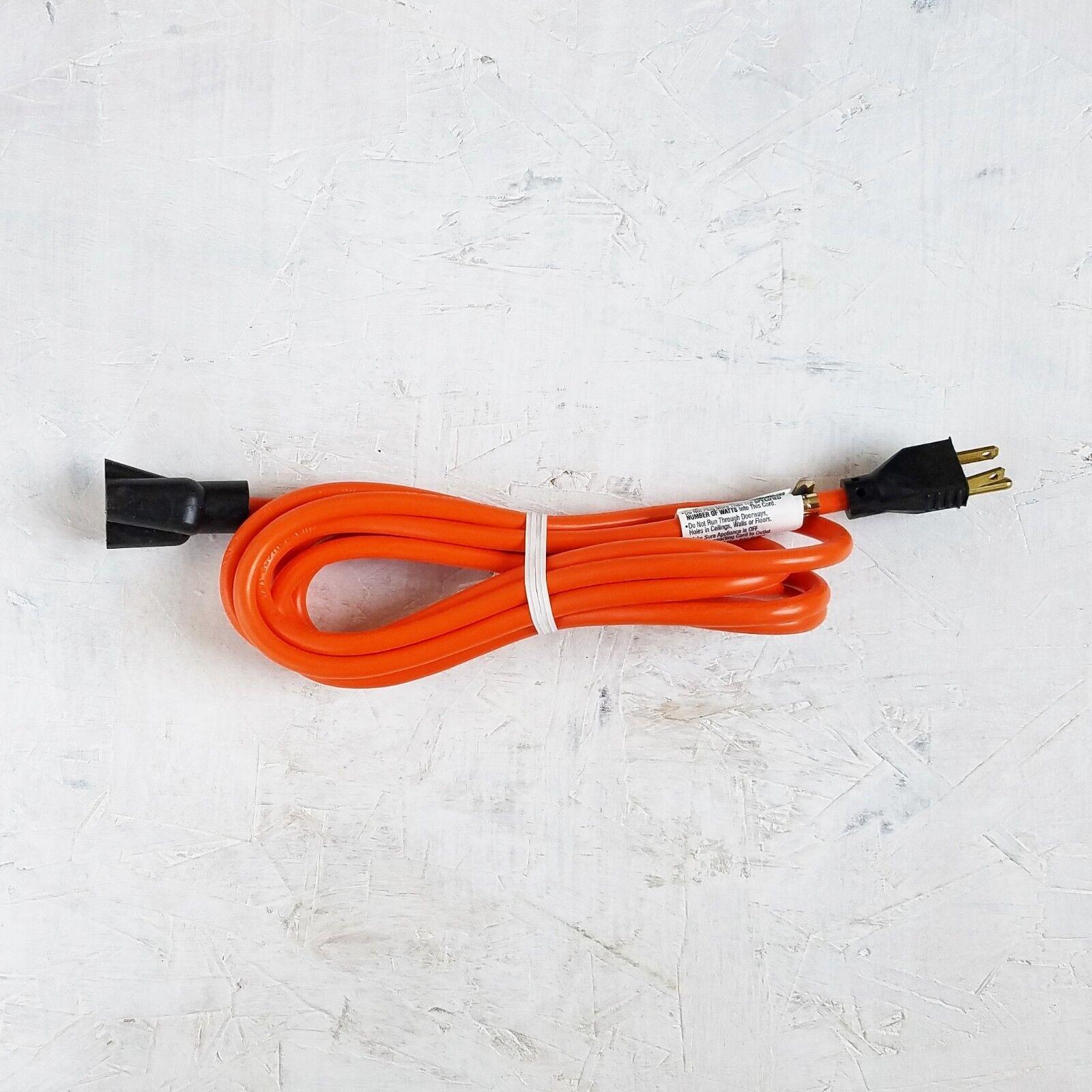 10 16 Gauge Light Duty Orange Indoor