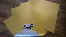 10 Premium Matt GOLD A4 Self Adhesive Inkjet Printable Film Sticker Sheets