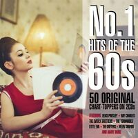 No. 1 Hits Of The 60s Various Artists Best Of 50 Essential Songs Sealed 2 Cd
