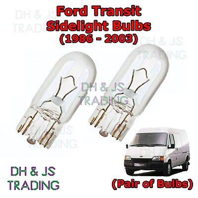Rover 45 White 4-LED Xenon Bright ICE Side Light Beam Bulbs Pair Upgrade