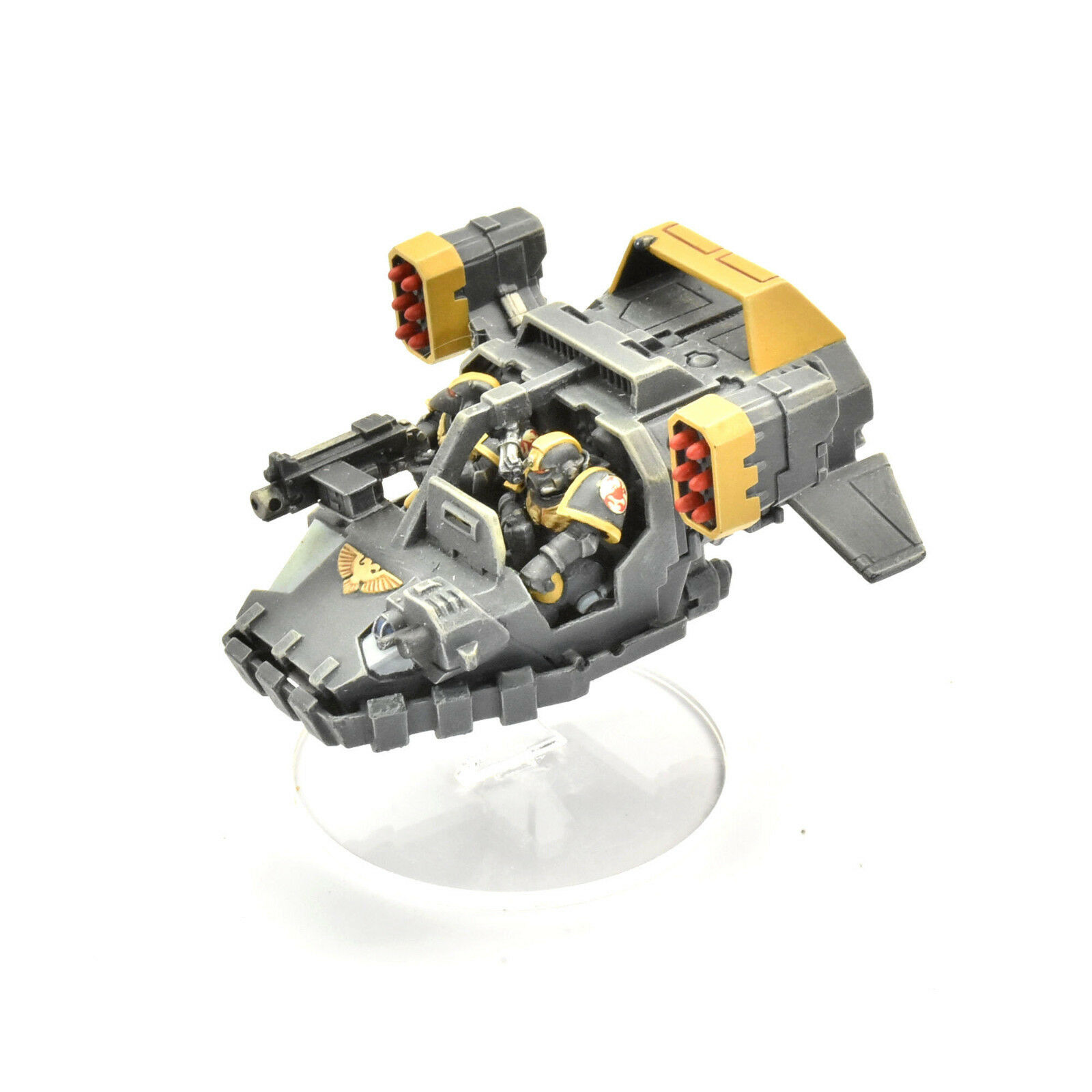 SPACE MARINES Land speeder typhoon PRO PAINTED 40K Red Scorpions army