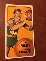 Pat Riley Signed 1970 Topps Card #13 Portland Trail Blazers AND Signed Book