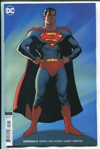 Superman-12-Variant-Bendis-DC-Comics-2019-1st-Print-unread-NM