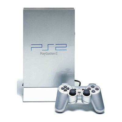 Sony PlayStation 2 Satin Silver Console