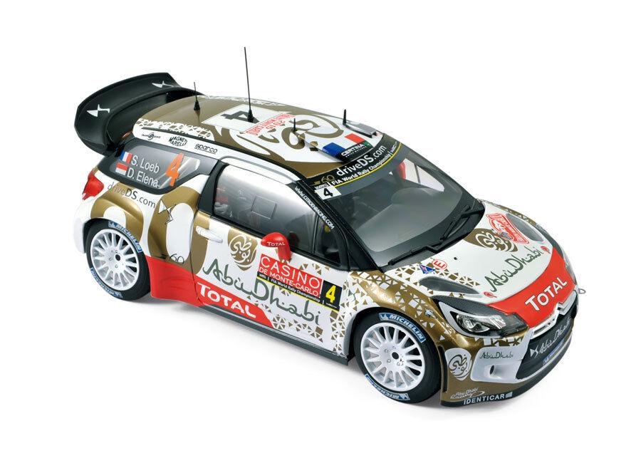 NOREV CITROEN DS 3 wrc rallye de Monte Carlo 2016, Loeb Elena  4 1 18 181538
