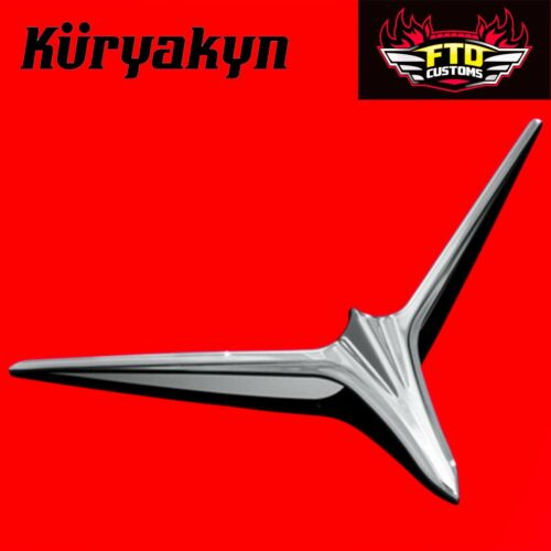 Kuryakyn Eyebrow Accents For Upper Fairing Scoop 12-/'17 GL1800 /& F6B 7362