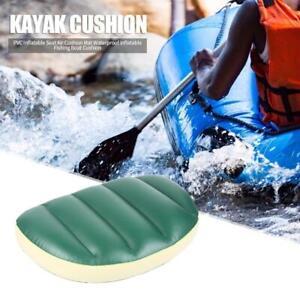 PVC Inflatable Seat Air Cushion Durable Outdoor Fishing Boat Kayak Cushion  #UK