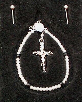 NEW FM Diana Miniature Rosary Beads for 12-16in dolls Replica Mother Teresa set