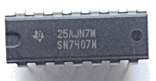 Sn7407n 7407n buffer//driver 6-ch Non-inverting Open Collector Bipolar Dip-14