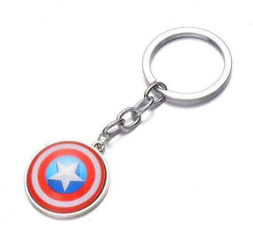 Super Hero Novelty Keyring Batman Captain America Gift Stocking Filler