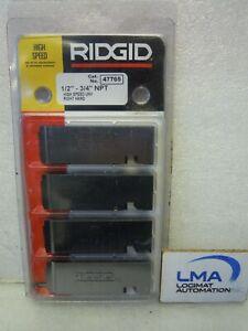 RIDGID-47765-BEVEL-SET-1-2-034-3-4-034-NPT-TOOL-HIGH-SPEED-UNV-RIGHT-HAND-NEW