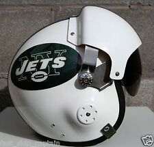 New York Jets Fighter Helmet - Football USAF Air Force S M L XL Brandon Marshall