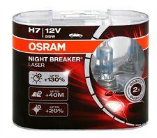 OSRAM NIGHT BREAKER LASER H7 DUO-BOX SET 12V 55W EXTRA POWER NEUHEIT
