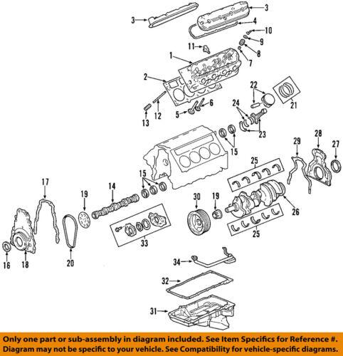 2010-2015 GM 6.2 L99 L94 CAMSHAFT NEW GM #  12623066